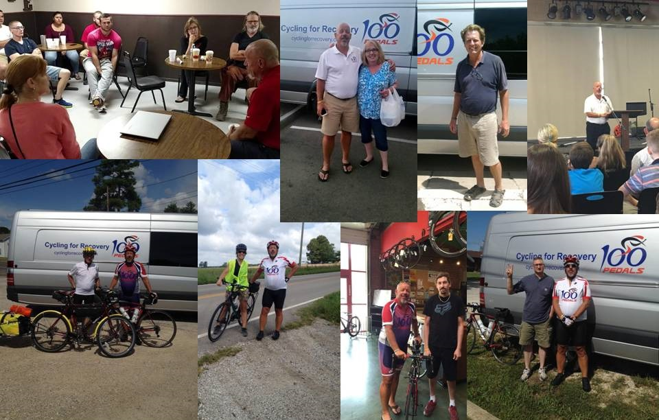 Faces of Cycling for Recovery Week Five